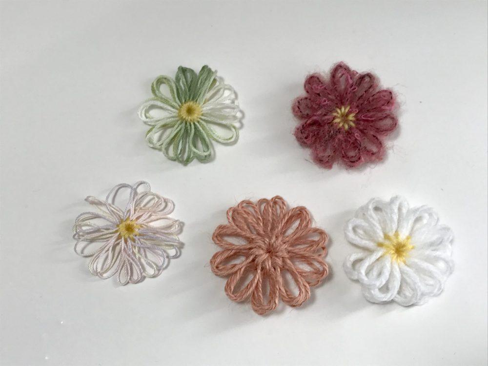 ハンドメイド 花