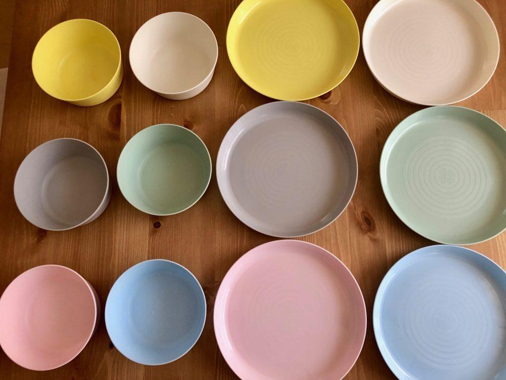 IKEA KALAS(カラース) 食器 パステルカラー
