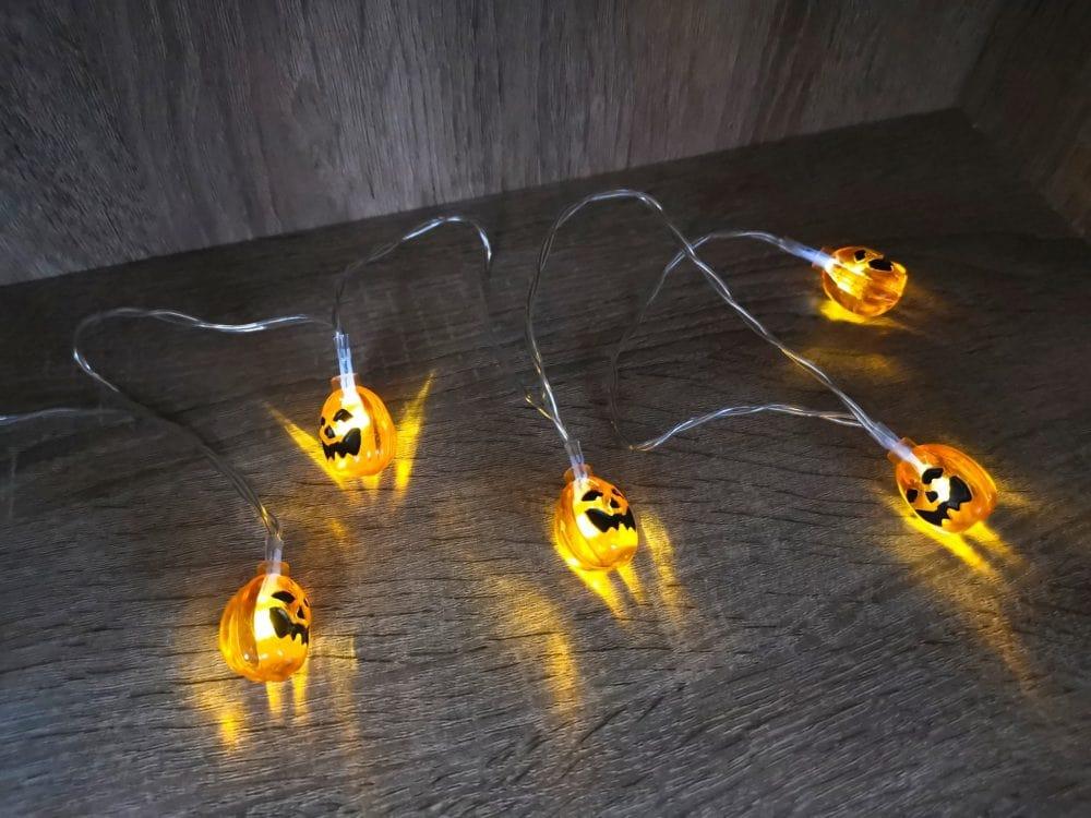ハロウィン LEDライト 100均
