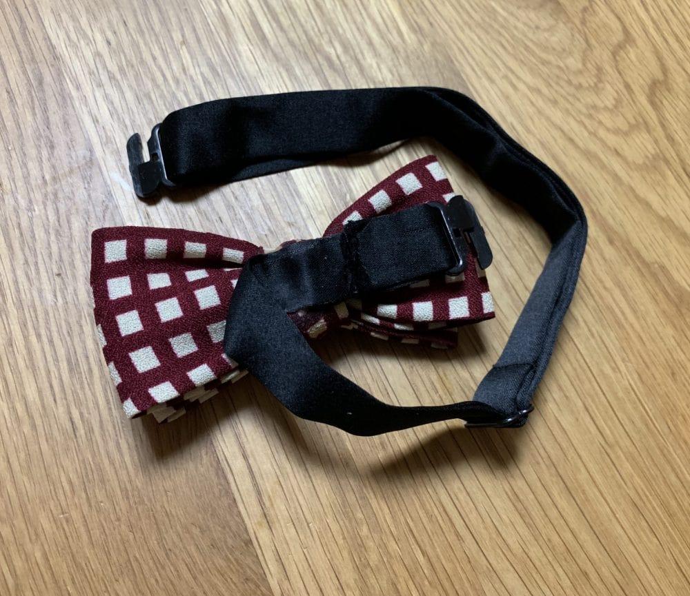 子供 蝶ネクタイ 作り方