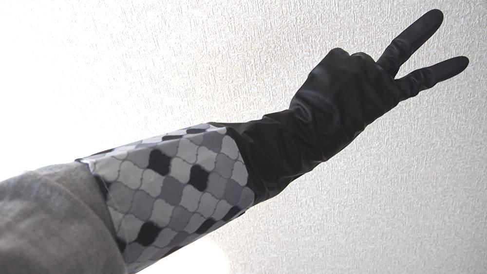 ゴム手袋 100均