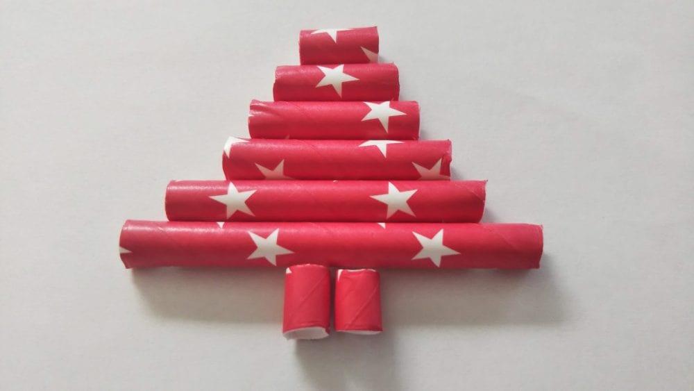 ペーパーストロー クリスマスツリー