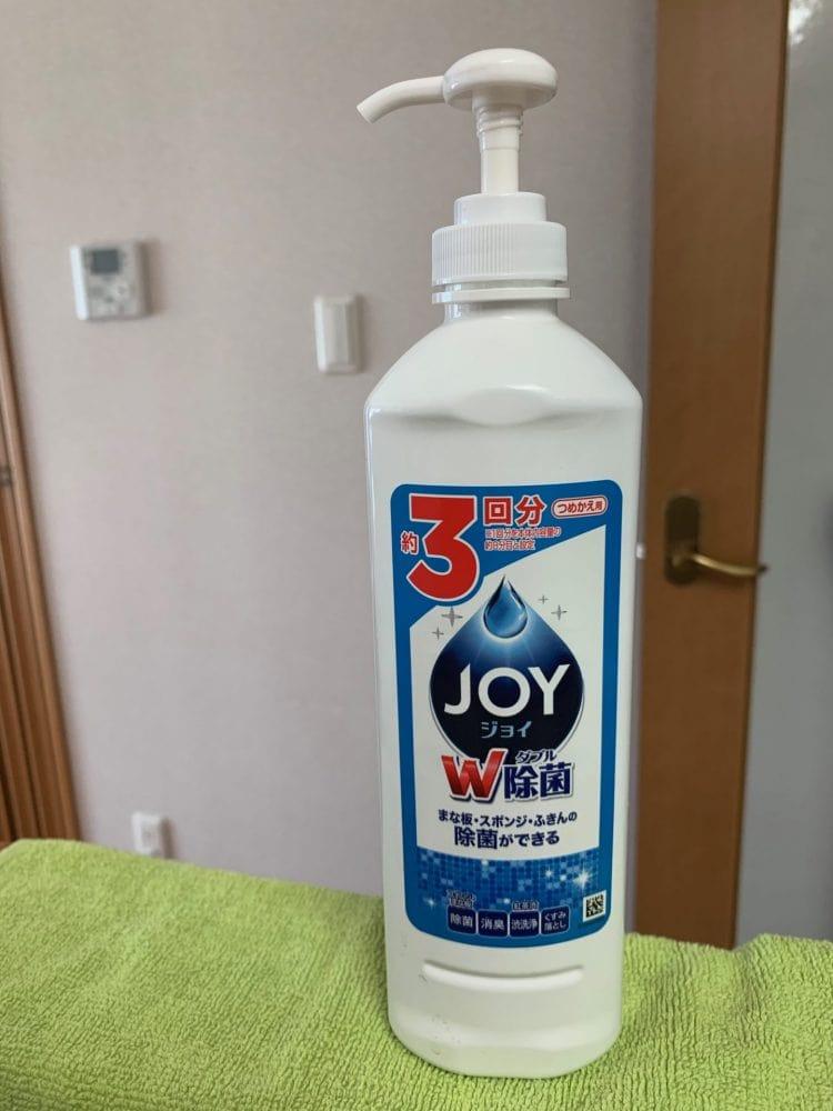 食器用洗剤 ジョイ ポンプ
