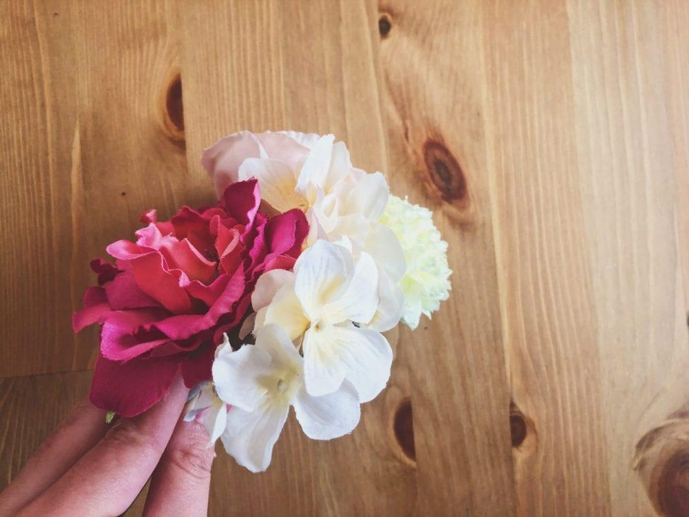100均 造花