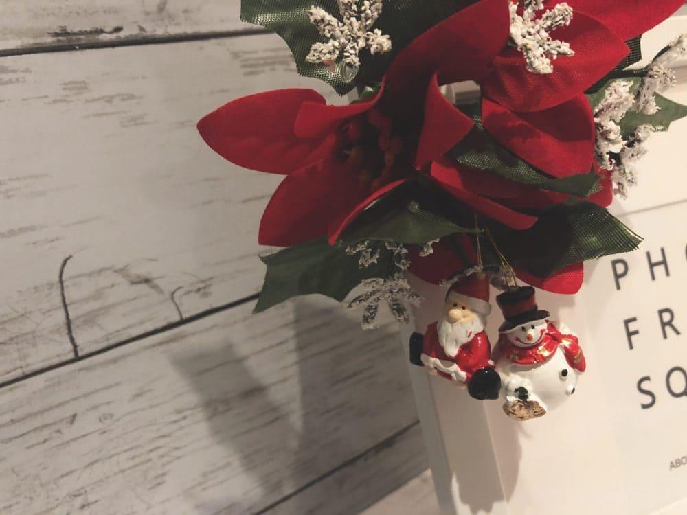 クリスマス フォトフレーム 作り方