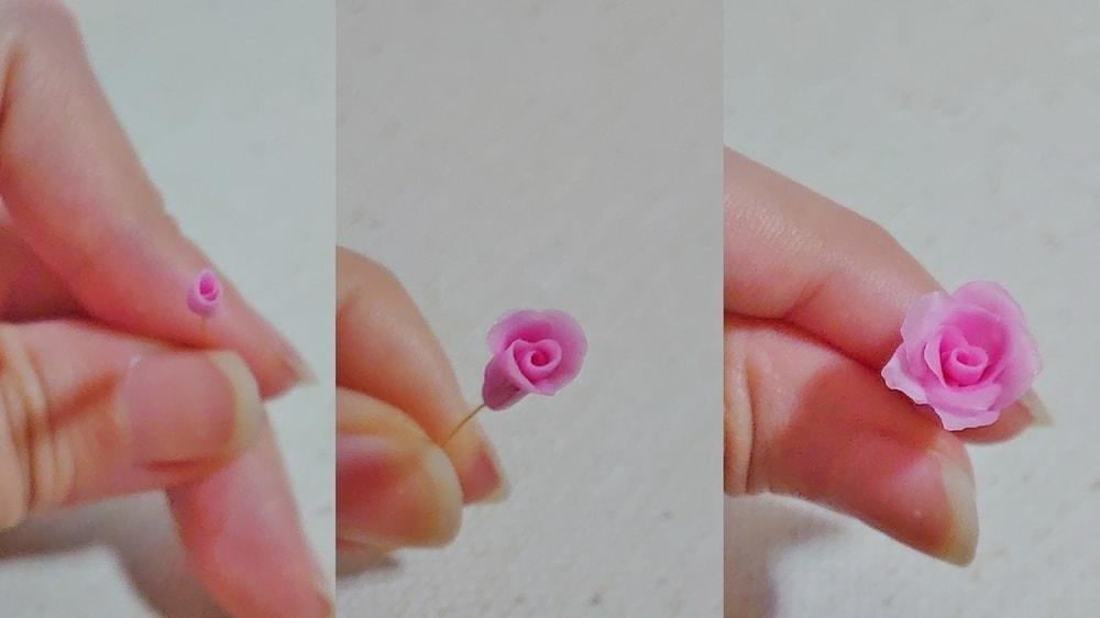 薔薇の作り方 手順